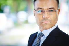 Ώριμος επιχειρηματίας Στοκ εικόνες με δικαίωμα ελεύθερης χρήσης