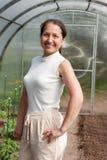 Ώριμος κηπουρός στοκ φωτογραφία