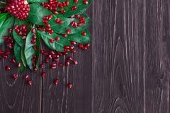 Ώριμο κόκκινο σιτάρι ροδιών Στοκ φωτογραφία με δικαίωμα ελεύθερης χρήσης