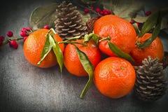 Ώριμο πορτοκαλί tangerine Στοκ φωτογραφία με δικαίωμα ελεύθερης χρήσης