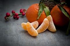 Ώριμο πορτοκαλί tangerine γαρίφαλο Στοκ φωτογραφία με δικαίωμα ελεύθερης χρήσης