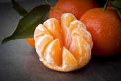 Ώριμο πορτοκαλί tangerine γαρίφαλο Στοκ εικόνα με δικαίωμα ελεύθερης χρήσης