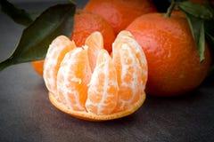 Ώριμο πορτοκαλί tangerine Στοκ εικόνα με δικαίωμα ελεύθερης χρήσης