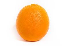 Ώριμο φρέσκο πορτοκάλι στο άσπρο υπόβαθρο Στοκ Εικόνες