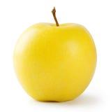 Ώριμο φωτεινό κίτρινο μήλο Στοκ Εικόνες