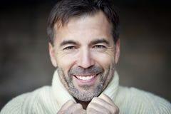 ώριμο χαμόγελο ατόμων Στοκ εικόνες με δικαίωμα ελεύθερης χρήσης