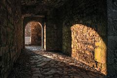 аббатство bective уравновешивание графство Meath Ирландия стоковое фото rf