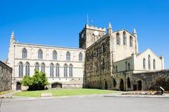 аббатство hexham стоковое изображение rf