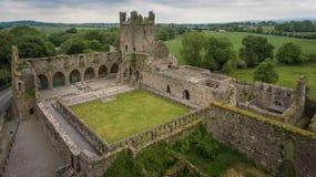 Аббатство Jerpoint Thomastown, графство Килкенни, Ирландия стоковые изображения