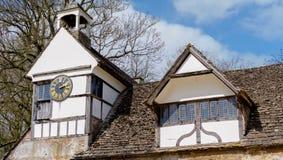 Аббатство Lacock в Уилтшире, Великобритании стоковые изображения rf