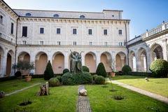 Аббатство Montecassino Лацио, Италия Стоковое Фото