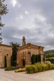Аббатство Poblet в Испании стоковое изображение rf