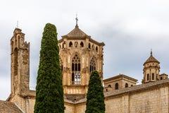 Аббатство Poblet в Испании стоковое изображение