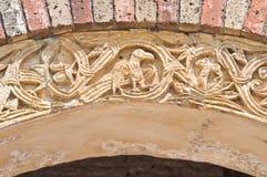 Аббатство Pomposa. Codigoro. Эмилия-Романья. Италия. Стоковое Фото