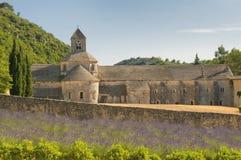 Аббатство Senanque, Провансаль, Франция стоковые изображения rf
