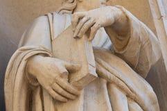 Аббатство St Giovanni Evangelista Стоковые Изображения RF