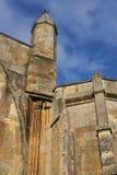 Аббатство Tewkesbury, Англия, архитектурноакустическая деталь стоковая фотография rf