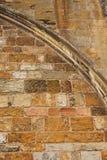 Аббатство Tewkesbury, Англия, архитектурноакустическая деталь стоковое изображение rf