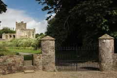 аббатство tintern графство Wexford Ирландия стоковое фото