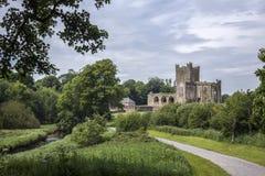 Аббатство Tintern - графство Wexford - Ирландия Стоковое Изображение RF