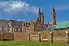 Аббатство Tongerlo, Бельгия стоковое фото rf