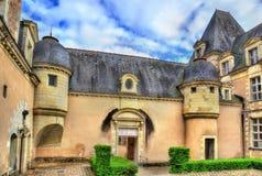 Аббатство Toussaint злит, Франция Стоковое фото RF