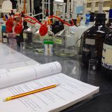 лаборатория Стоковое Изображение