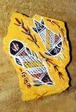 аборигенное искусство Австралия Стоковое Изображение