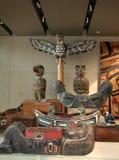 Аборигенное искусство, Ванкувер, Канада Стоковая Фотография RF