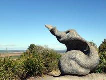Аборигенное искусство в Halloran весь парк консервации Стоковая Фотография RF