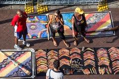 Аборигенное искусство для продажи Стоковое Изображение RF