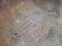 аборигенное искусство стоковое изображение rf