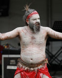 Аборигенные танцоры стоковое изображение rf