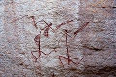 аборигенные утесы Стоковое Изображение