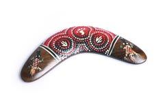 аборигенный бумеранг Австралии Стоковая Фотография RF