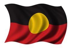 аборигенный флаг Стоковое фото RF