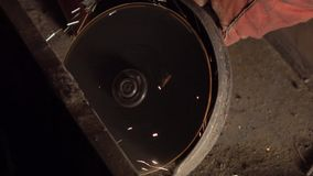 Абразивный диск Шлифовальный станок видеоматериал