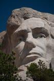 Абраюам Линчолн на Mt. Rushmore стоковое изображение