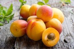 абрикос открытый стоковое фото
