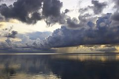 абсолютный штилевой океан Стоковое Изображение RF