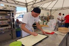 Абсолютный итальянский чемпионат пиццы стоковое фото