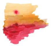 абстрактная акварель картины Стоковые Изображения