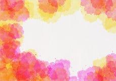 абстрактная акварель картины Стоковая Фотография RF
