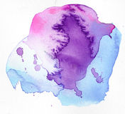 абстрактная акварель краски конструкции предпосылки стоковые фотографии rf