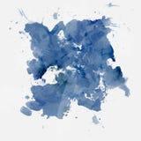 абстрактная акварель краски Стоковое Фото