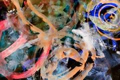 Абстрактная акварель любит предпосылка Стоковое Фото