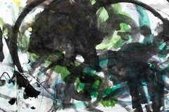 Абстрактная акварель любит предпосылка Стоковые Изображения