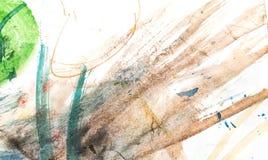 Абстрактная акварель любит предпосылка Стоковые Изображения RF