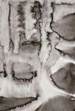 Абстрактная акварель на бумажной текстуре как предпосылка В тонне Sepia Стоковая Фотография