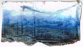 абстрактная акварель предпосылки Стоковое Изображение